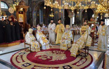 Πολυαρχιερατικό Συλλείτουργο στον Καθεδρικό Ναό Αγίας Σκέπης Εδέσσης