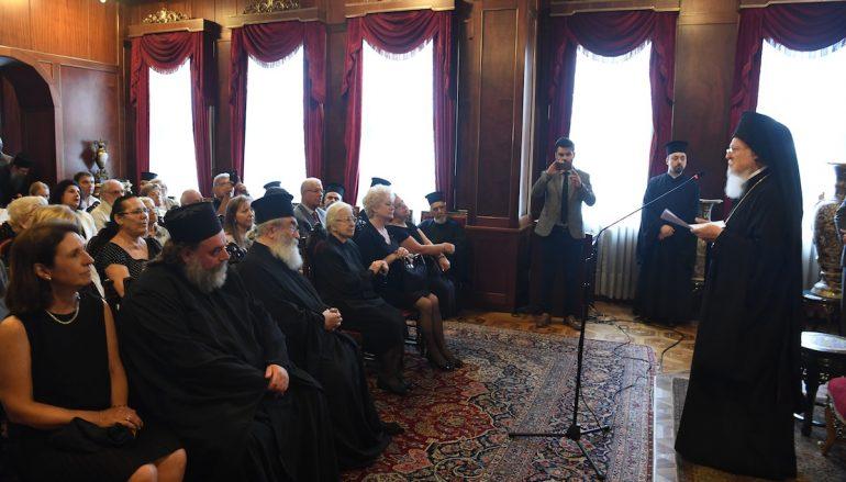 """Οικ. Πατριάρχης: """"Λογικό να επιθυμώμεν την αποκατάστασιν του Ουκρανικού Εκκλ. Σώματος"""""""