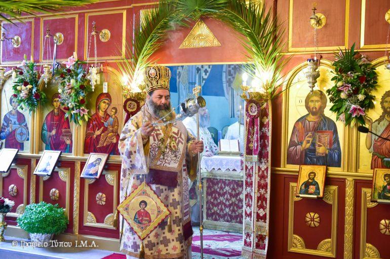 Η εορτή του Αγίου Παντελεήμονος στην Ι. Μ. Λαγκαδά (ΦΩΤΟ)