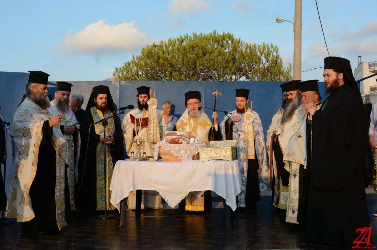 Η Βόνιτσα τίμησε τον Άγιο Παντελεήμονα (ΦΩΤΟ)