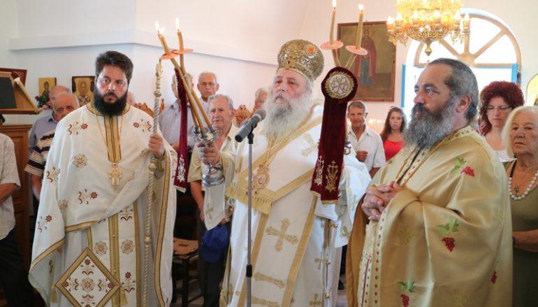 Ο εορτασμός της Αγίας Μαρίνας στην Αντίπαρο (ΦΩΤΟ)