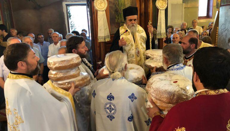 Λαμπρά εορτάσθηκε η Αγία Μαρίνα στο Καταράχι Πύργου (ΦΩΤΟ)