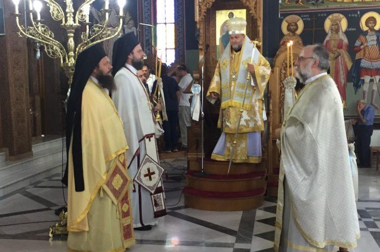 Η εορτή της Αγίας Μαρίνης στην Ι. Μ. Χαλκίδος (ΦΩΤΟ)
