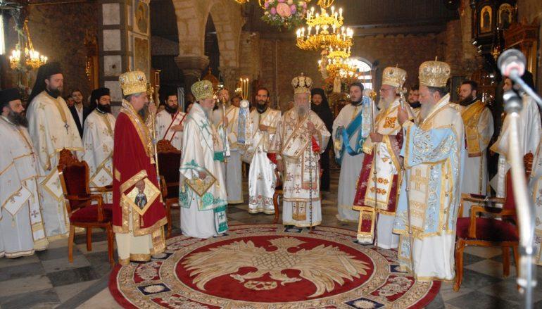 Η Χαλκίδα εόρτασε την Πολιούχο της Αγία Παρασκευή (ΦΩΤΟ)
