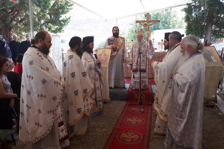 Εορτή του Αγίου Βλασίου του Ακαρνάνος στον τόπο του μαρτυρίου του (ΦΩΤΟ)
