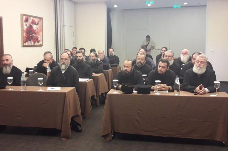 Σεμινάριο Επιμορφώσεως κληρικών στην Ι. Μ. Καλαβρύτων (ΦΩΤΟ)