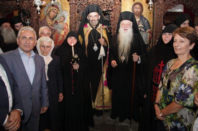 Μεγαλοσχημία μοναχής στην Ιερά Μονή Μακελλαριάς Καλαβρύτων (ΦΩΤΟ)