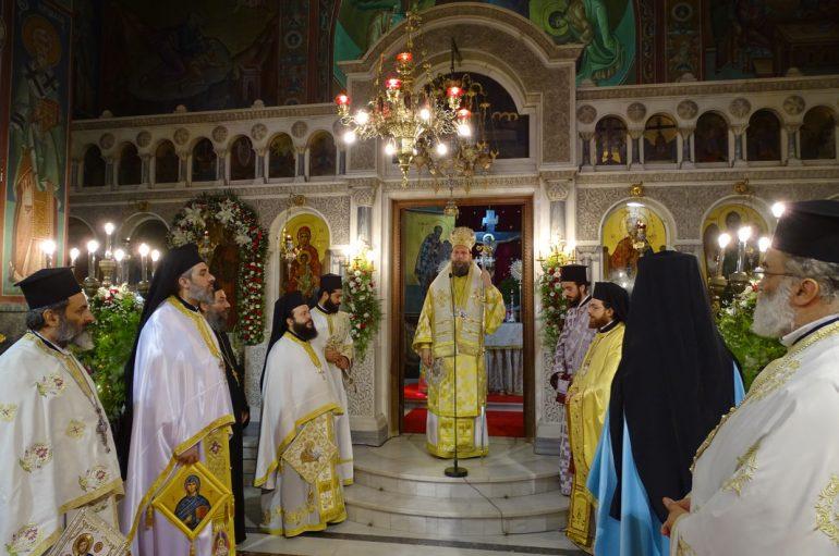 Η εορτή του θαύματος της Αγίας Ευφημίας στη Νέα Χαλκηδόνα (ΦΩΤΟ)