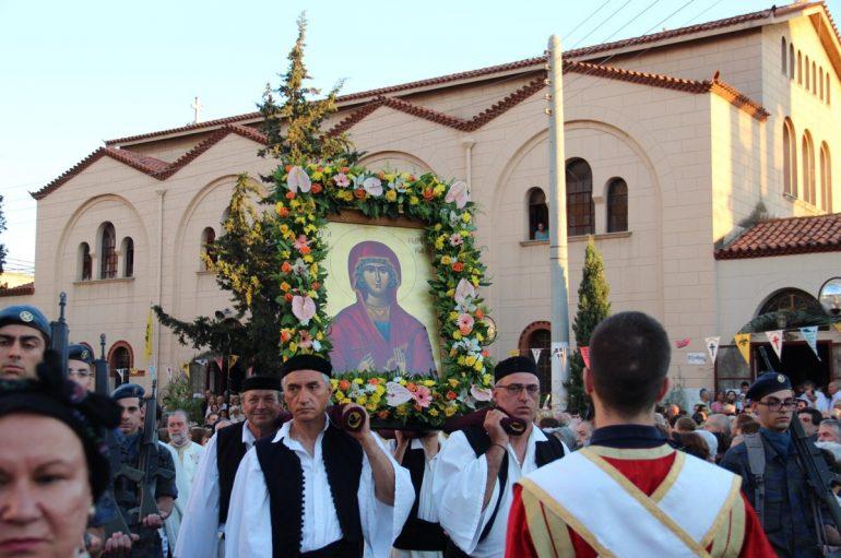 Πρόγραμμα εορτασμού του Ι. Ναού Αγ. Μαρίνας Ηλιουπόλεως
