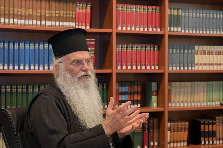 """Μεσογαίας Νικόλαος: """"Έχει λόγο στα εθνικά η Εκκλησία"""""""
