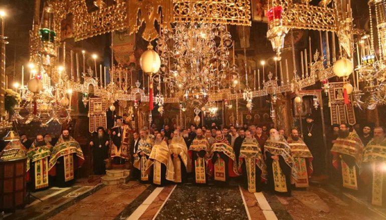 Λαμπροί εορτασμοί στην Ι. Μονή Βατοπαιδίου για τον Αγ. Μάξιμο Γραικό (ΦΩΤΟ)