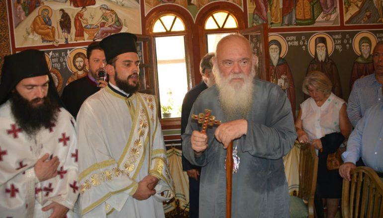 Ο Αρχιεπίσκοπος τίμησε την Αγία Μαρίνα (ΦΩΤΟ)
