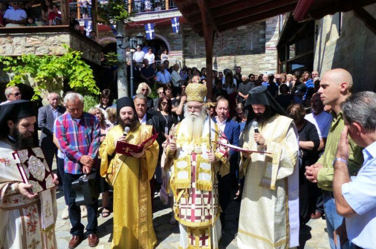Λαμπρός εορτασμός στην Ι. Μονή Αγ. Αναργύρων Μελισσοτόπου Καστοριάς (ΦΩΤΟ)