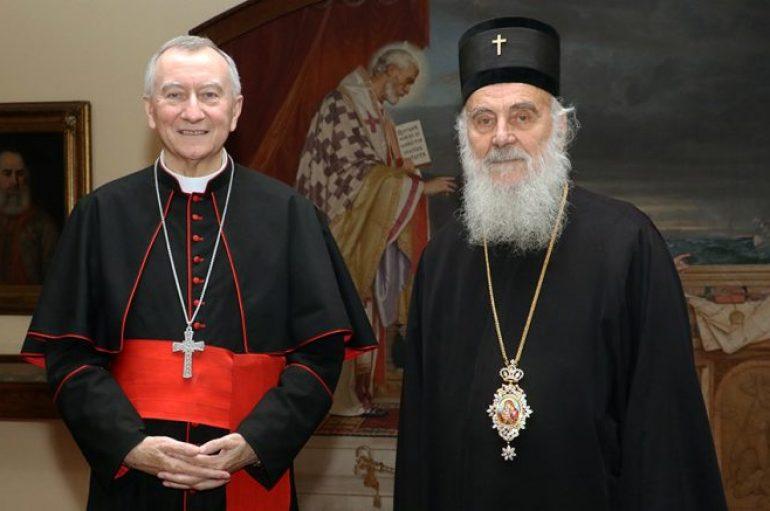 """""""Όχι"""" στην επίσκεψη του Πάπα Φραγκίσκου από τον Πατριάρχη Σερβίας Ειρηναίο"""