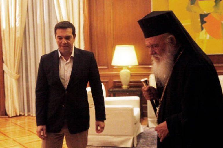 Τηλεφωνική επικοινωνία Τσίπρα – Ιερώνυμου μετά τις φονικές πυρκαγιές