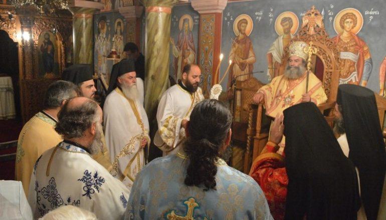 Ιερά Αγρυπνία για την εορτή του Οσίου Παϊσίου στην Ι. Μ. Μάνης (ΦΩΤΟ)