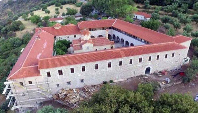 Εγκαίνια στην ανακαινισθείσα Ιερά Μονή Βουλκάνου Μεσσηνίας (ΦΩΤΟ)