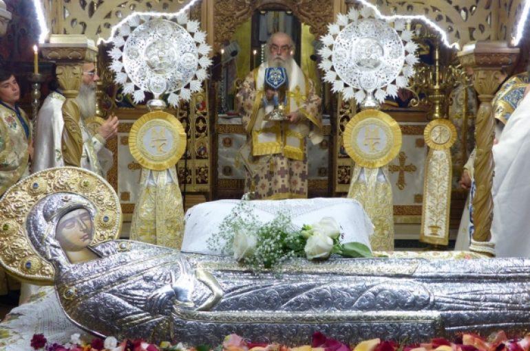 Προεόρτια Αγρυπνία για την Κοίμηση της Θεοτόκου στην Καστοριά (ΦΩΤΟ)