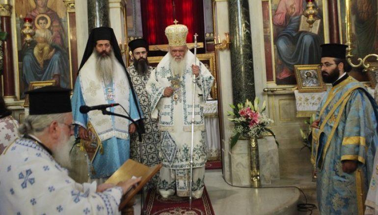 """Αρχιεπίσκοπος: """"Δώρο της Παναγίας η απελευθέρωση των δύο στρατιωτικών"""""""