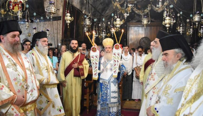 Η εορτή της Κοιμήσεως της Θεοτόκου στο Πατριαρχείο Ιεροσολύμων (ΦΩΤΟ)