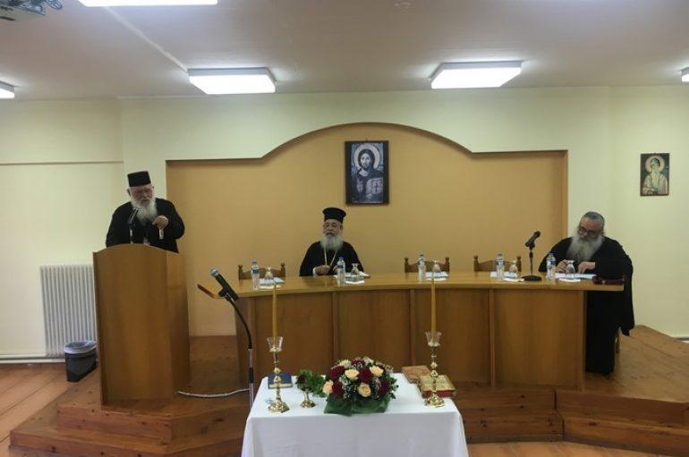 Ο Αρχιεπίσκοπος στο 6ο Πανελλήνιο Συνέδριο Ιερέων Νεότητος και Κατηχητών