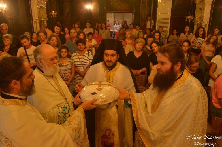 Πανηγυρικός Εσπερινός της Παναγίας Γεροντίσσης στην Τρίπολη (ΦΩΤΟ)