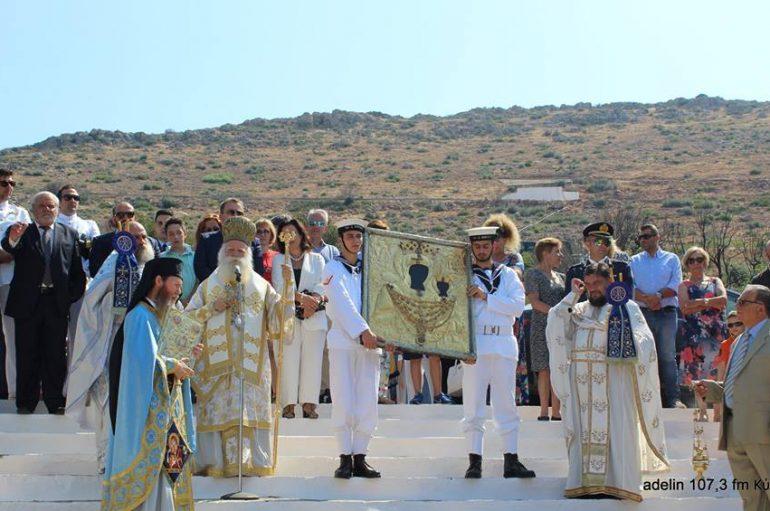 Η εορτή Κοιμήσεως της Θεοτόκου στο νησί των Κυθήρων (ΦΩΤΟ)