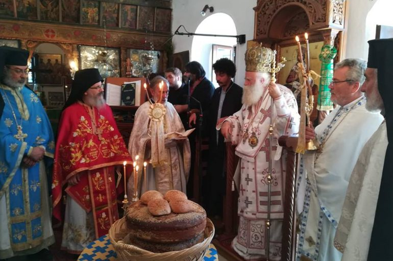 Τα Αντικύθηρα εόρτασαν τον Πολιούχο τους Άγιο Μύρωνα (ΦΩΤΟ)