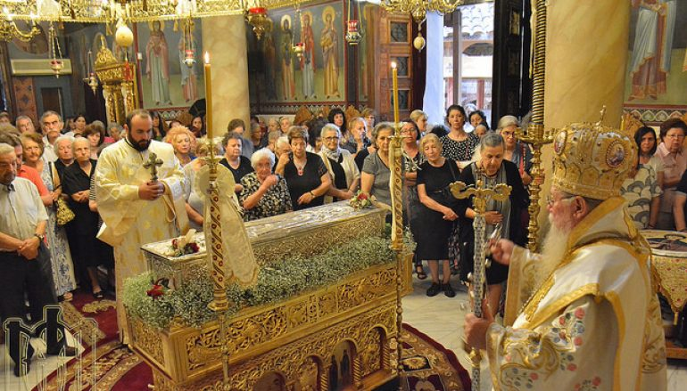 Πανηγύρισε η Ι. Μονή Αγίας Θεοδώρας της Μυροβλύτιδος Θεσσαλονίκης (ΦΩΤΟ)