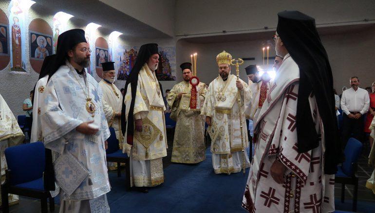 Η πρώτη Θεία Λειτουργία του Μητροπολίτη Ελβετίας στη Γενεύη (ΦΩΤΟ)