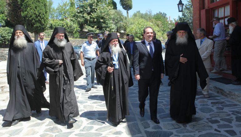 Εγκαταστάθηκε ο νέος Διοικητής του Αγίου Όρους Κωστής Δήμτσας (ΦΩΤΟ)