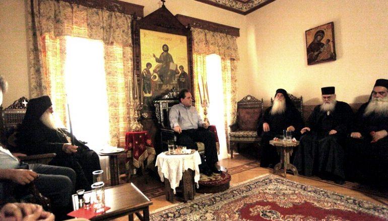 Συνέχεια επισκέψεων του Κωστή Δήμτσα σε Ι. Μονές του Αγίου Όρους (ΦΩΤΟ)