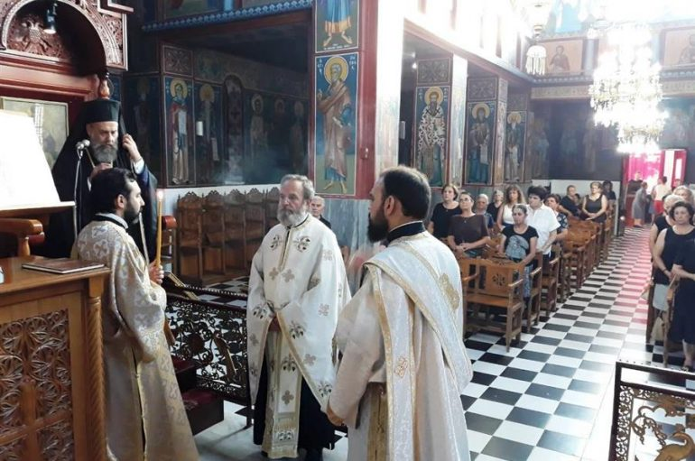 Ο Παρακλητικός Κανόνας από τον Μητροπολίτη Θεσσαλιώτιδος (ΦΩΤΟ)