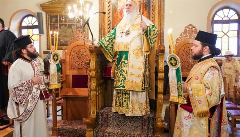 Η Νάουσα εόρτασε τον Πολιούχο της Άγιο Θεοφάνη τον Θαυματουργό (ΦΩΤΟ)