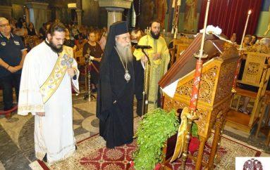 Ιερά Παράκληση προς την Θεοτόκο από τον Μητροπολίτη Σπάρτης (ΦΩΤΟ)