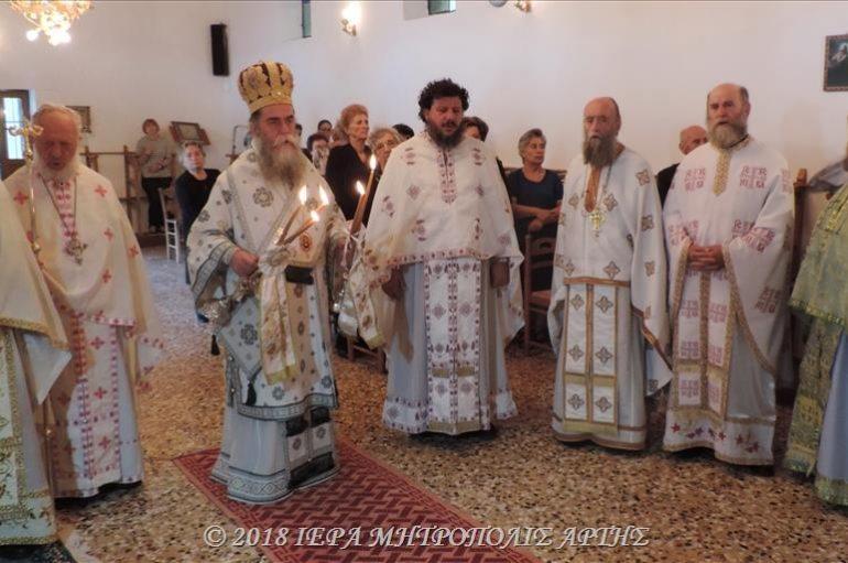 Η εορτή του Αγίου Κοσμά του Αιτωλού στα Κάψαλα Άρτης (ΦΩΤΟ)