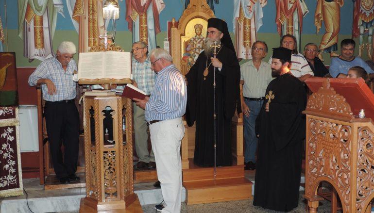 Ο Α΄ Παρακλητικός Κανών στην Ι. Μητρόπολη Άρτης (ΦΩΤΟ)