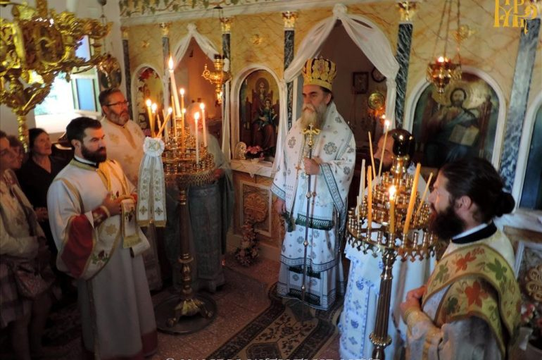 Αρχιερατική Θεία Λειτουργία στην Ελάτη Άρτης (ΦΩΤΟ)