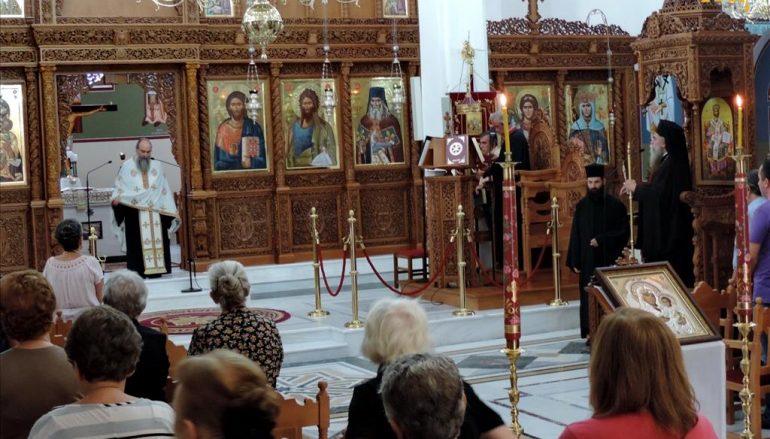 Ο Παρακλητικός Κανών στον Ι. Ναό Αγίου Μαξίμου του Γραικού Άρτης (ΦΩΤΟ)