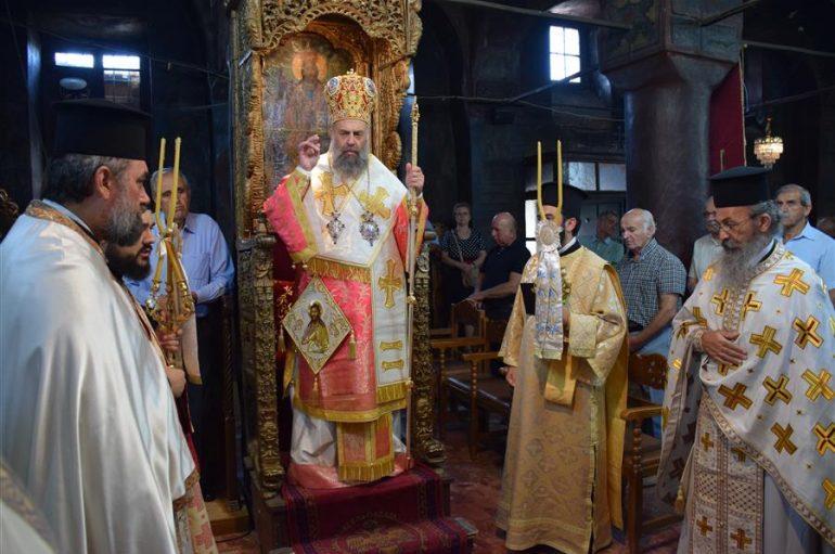 Εορτή της Αποτομής της κεφαλής του Προδρόμου στην Ι. Μ. Θεσσαλιώτιδος