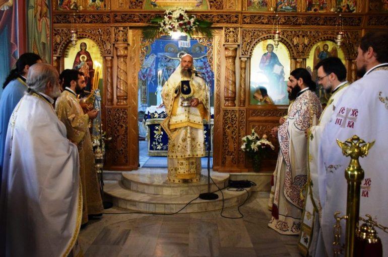 Η εορτή του Αγίου Αλεξάνδρου στην Ι. Μ. Θεσσαλιώτιδος (ΦΩΤΟ)