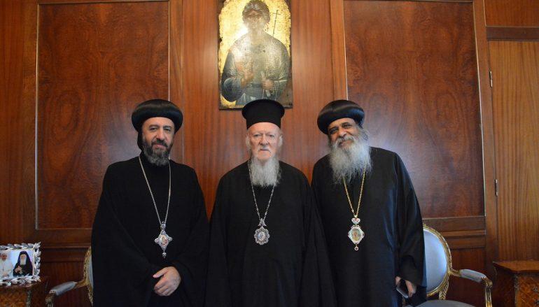 Επίσκεψη Κοπτών Αρχιεπισκόπων στο Οικ. Πατριαρχείο (ΦΩΤΟ)
