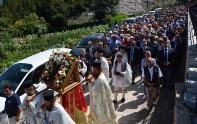Η Αρκαδία τίμησε την Θαυματουργό Παναγία Μαλεβή (ΦΩΤΟ)