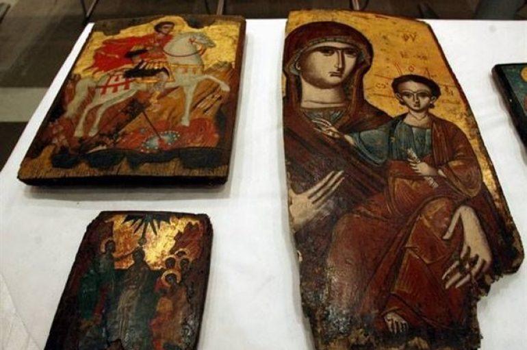 Κόνιτσα: Άγνωστοι έκλεψαν εικόνες σημαντικής αρχαιολογικής αξίας