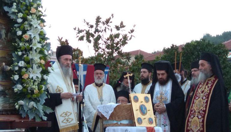 Κορυφώθηκαν οι λατρευτικές εκδηλώσεις για τον Άγιο Κοσμά (ΦΩΤΟ)