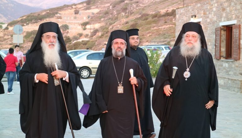 Πολυαρχιερατικός Εσπερινός για τον Άγιο Αρσένιο στην Πάρο (ΦΩΤΟ)
