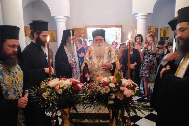 Η Εορτή της Τιμίας Ζώνης στην Ι. Μητρόπολη Δημητριάδος (ΦΩΤΟ)