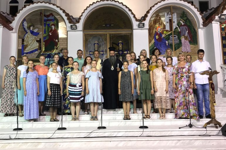 Συναυλία εκκλησιαστικής μουσικής στην Παραλία Κατερίνης (ΦΩΤΟ)