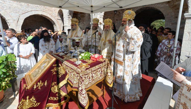 Εγκαίνια στην Ιερά Μονή Βουλκάνου Μεσσηνίας (ΦΩΤΟ)