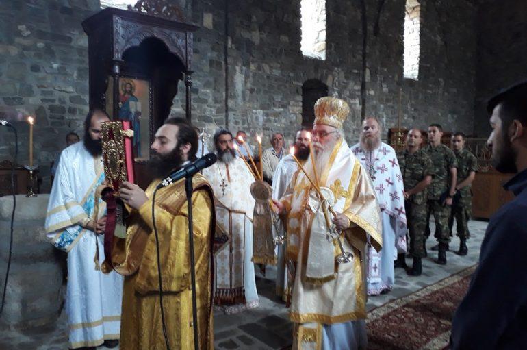 Αρχιερατική Θεία Λειτουργία στον ακριτικό Γράμμο (ΦΩΤΟ)